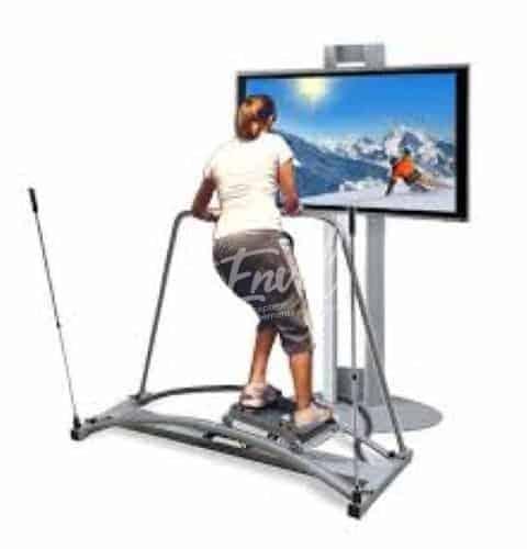 Simulateur de ski en réalité virtuelle
