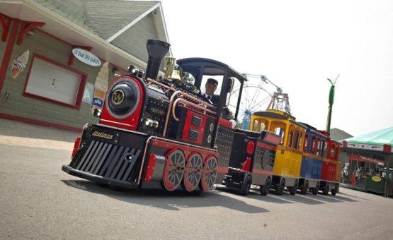 Petit train commercial