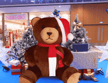 nounours-gonflable-geant-decoration-centre-commercial-noel-envol-
