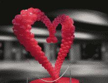 Décoration ballons St Valentin