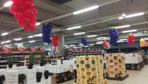 décoration foire aux vins